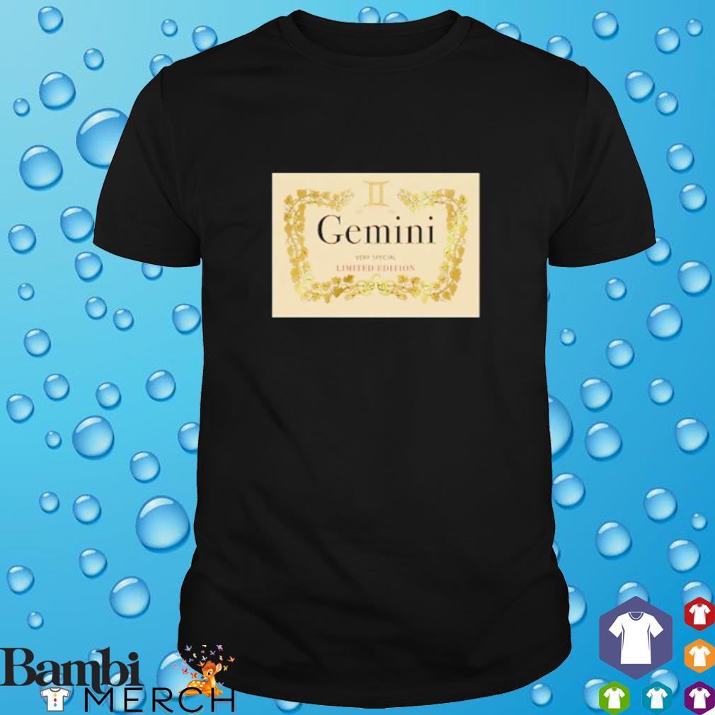 Gemini Limited Edition shirt