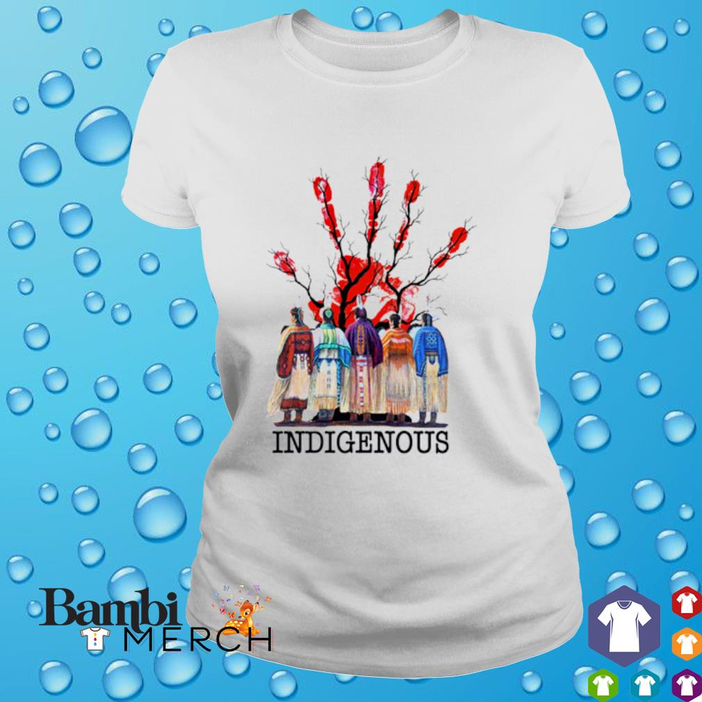 Indigenous Native American Red Hand shirt