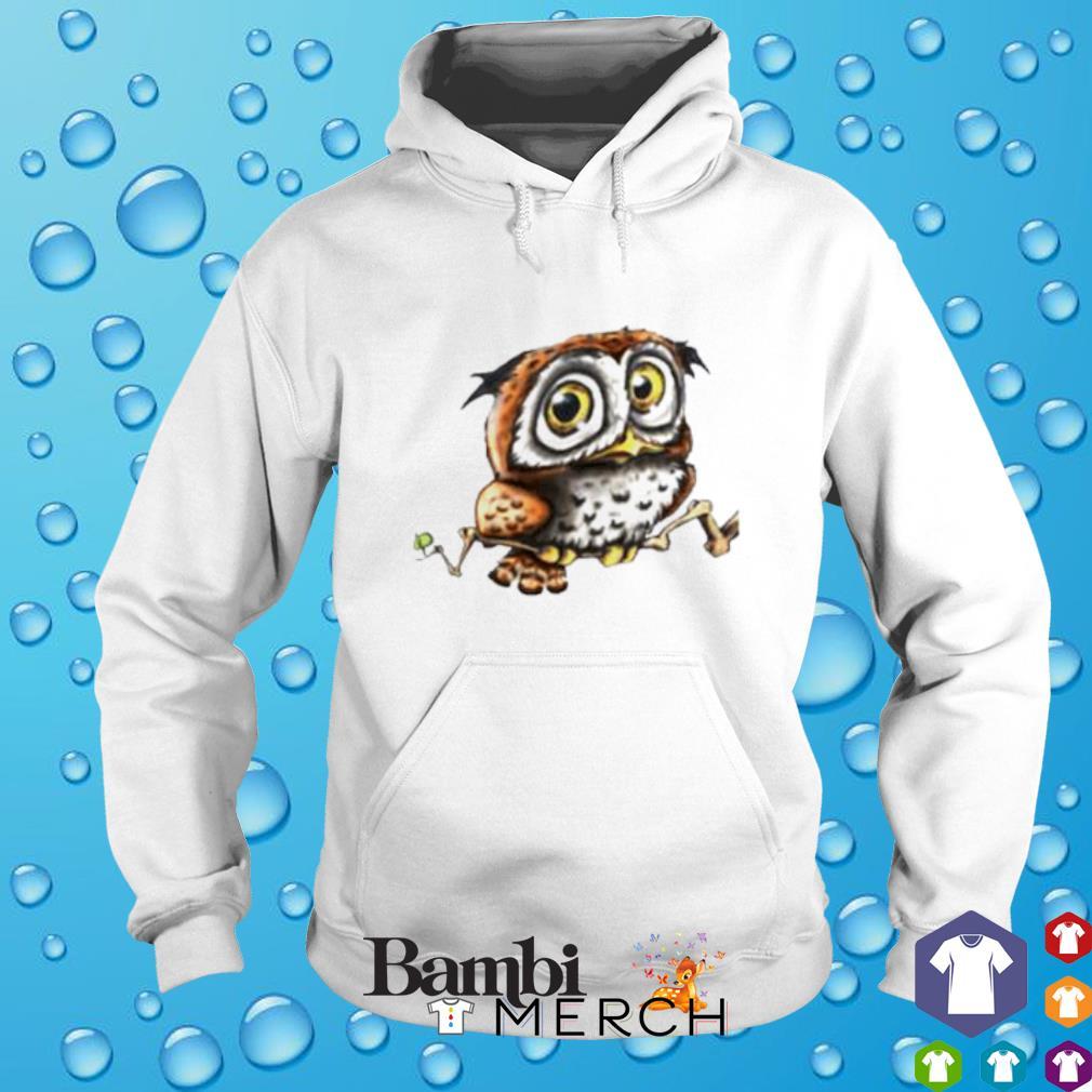Owl cute hoodie