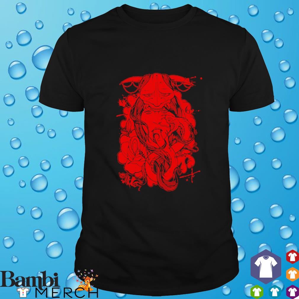 Red Geisha Mock shirt