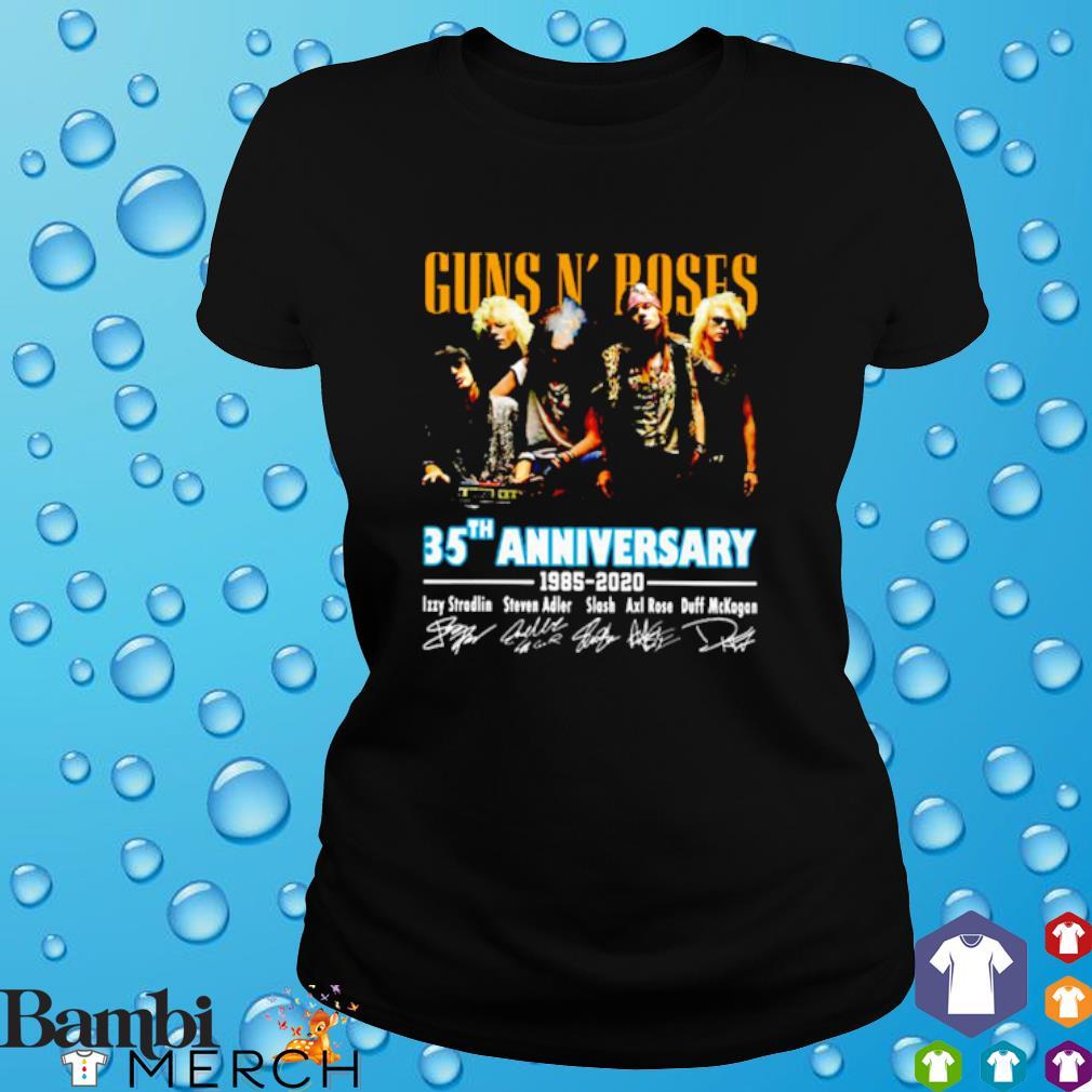 Gun N' Roses 35th Anniversary 1985 2020 signature s 6
