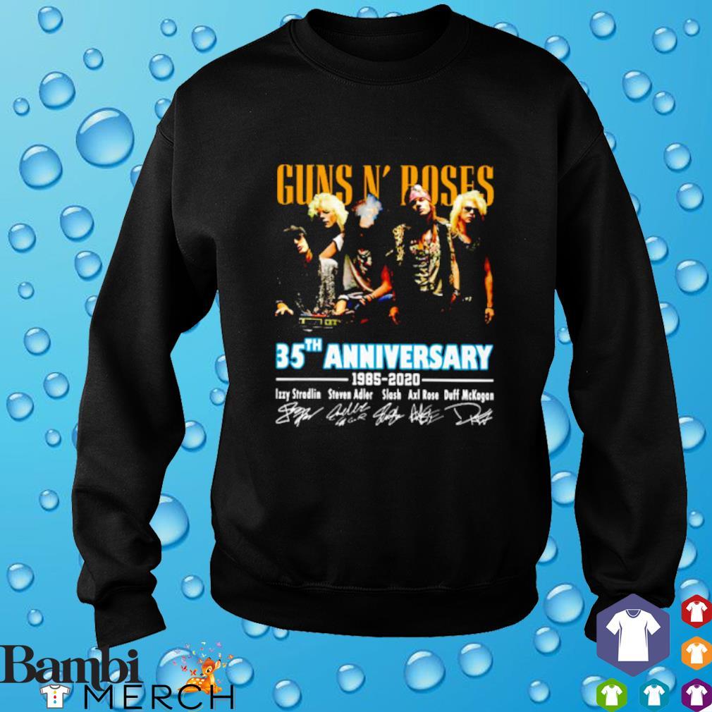 Gun N' Roses 35th Anniversary 1985 2020 signature s 8