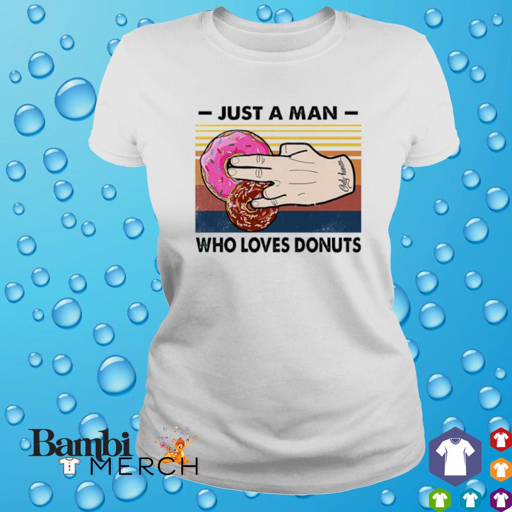 Just a man who loves Donuts vintage s 4