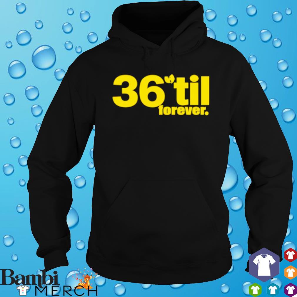 36 til forever Wu Tang s hoodie