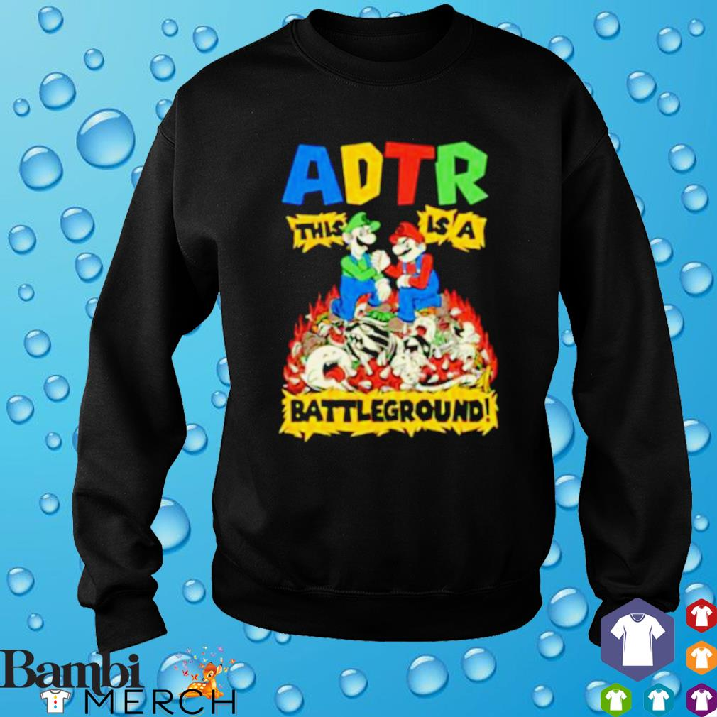 ADTR this is a battleground s sweater