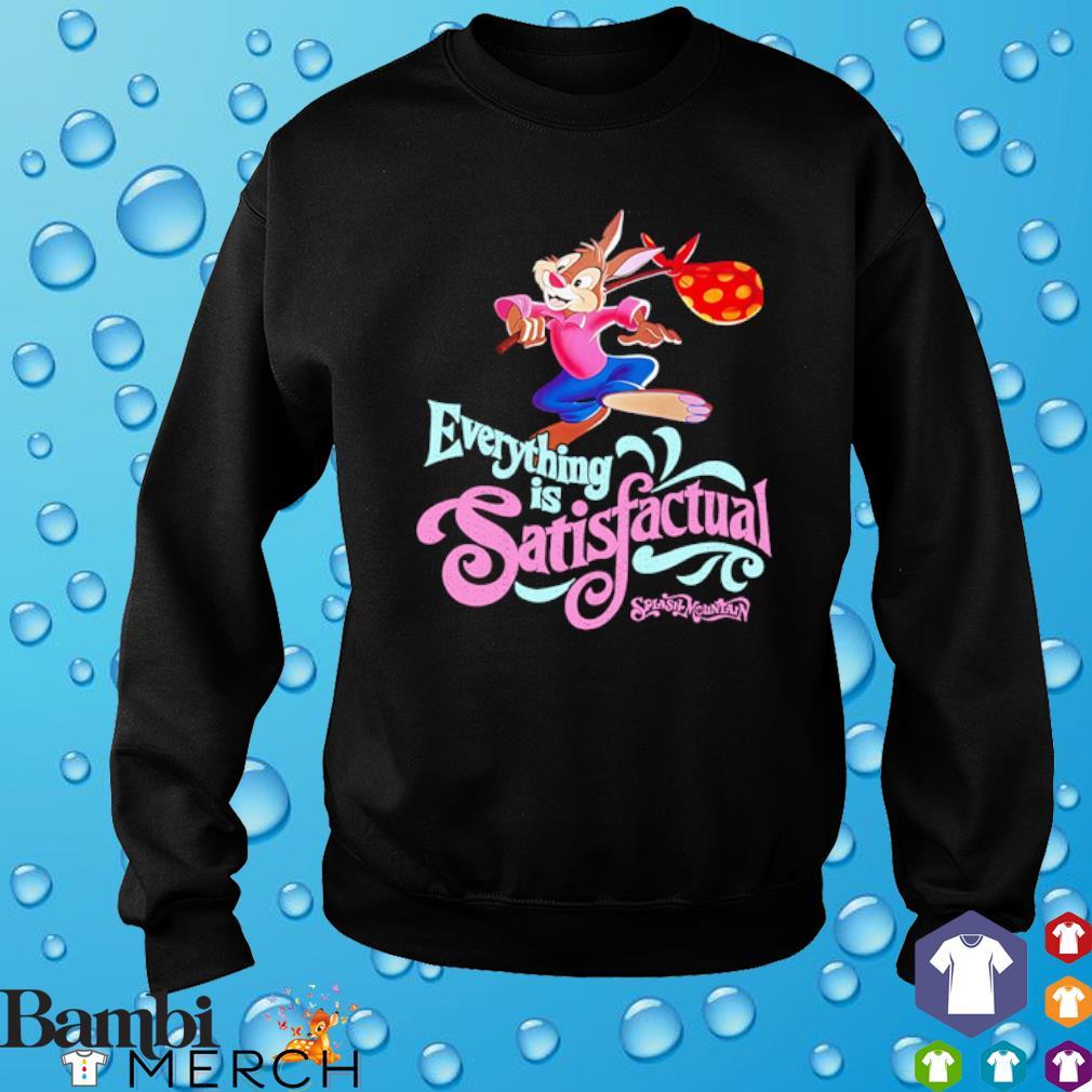 Br'er Rabbit Everything is Satisfactual Splash Mountain s sweater