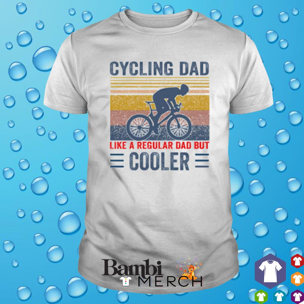 Cycling Dad like a regular Dad but cooler vintage shirt