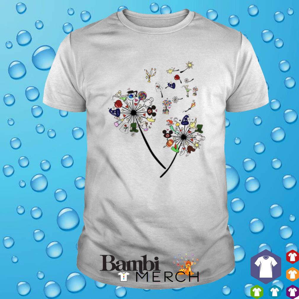 Dandelion disney character shirt