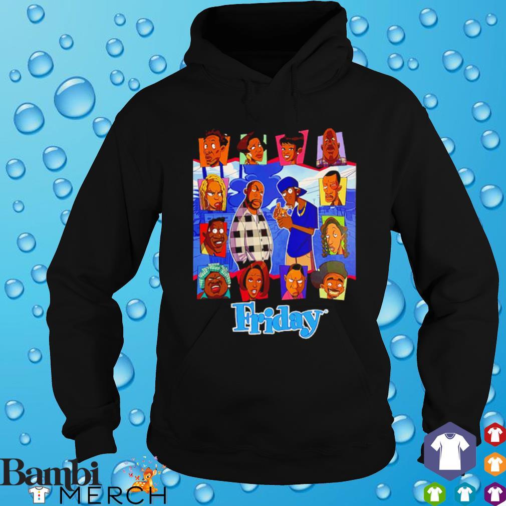 Friday animated craig and smokey cartoon s hoodie