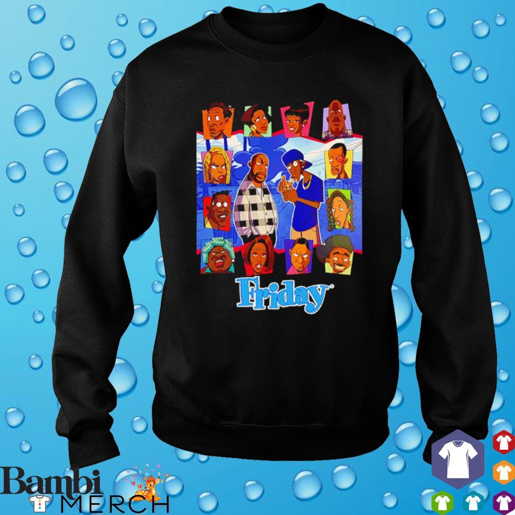 Friday animated craig and smokey cartoon s sweater