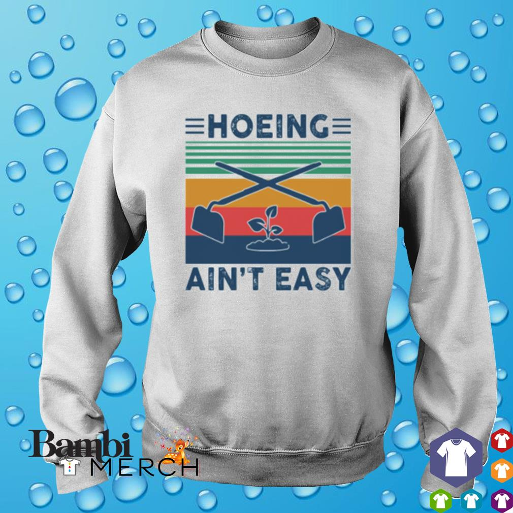 Garden Hoeing ain't easy vintage s sweater