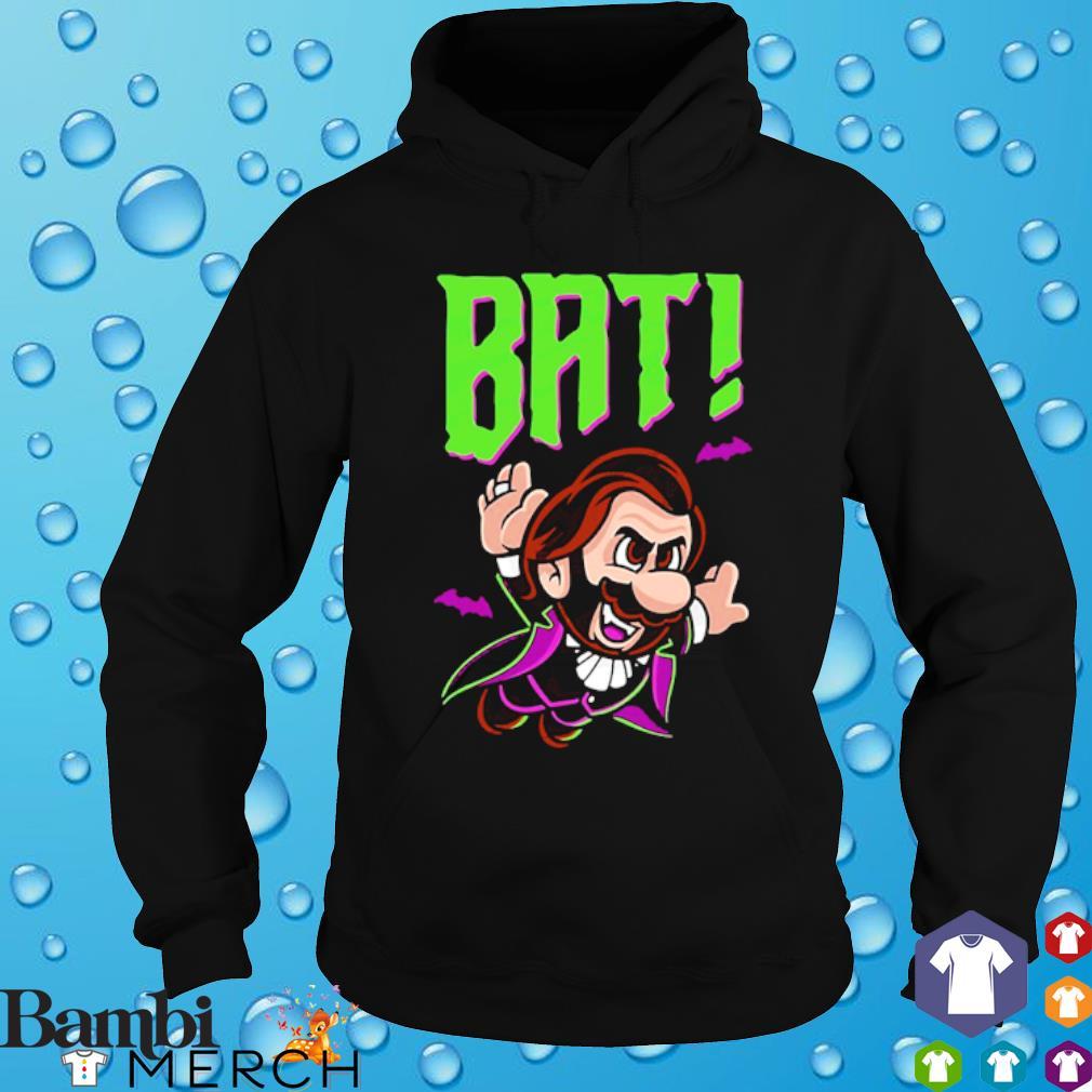 Mario fly bat s hoodie
