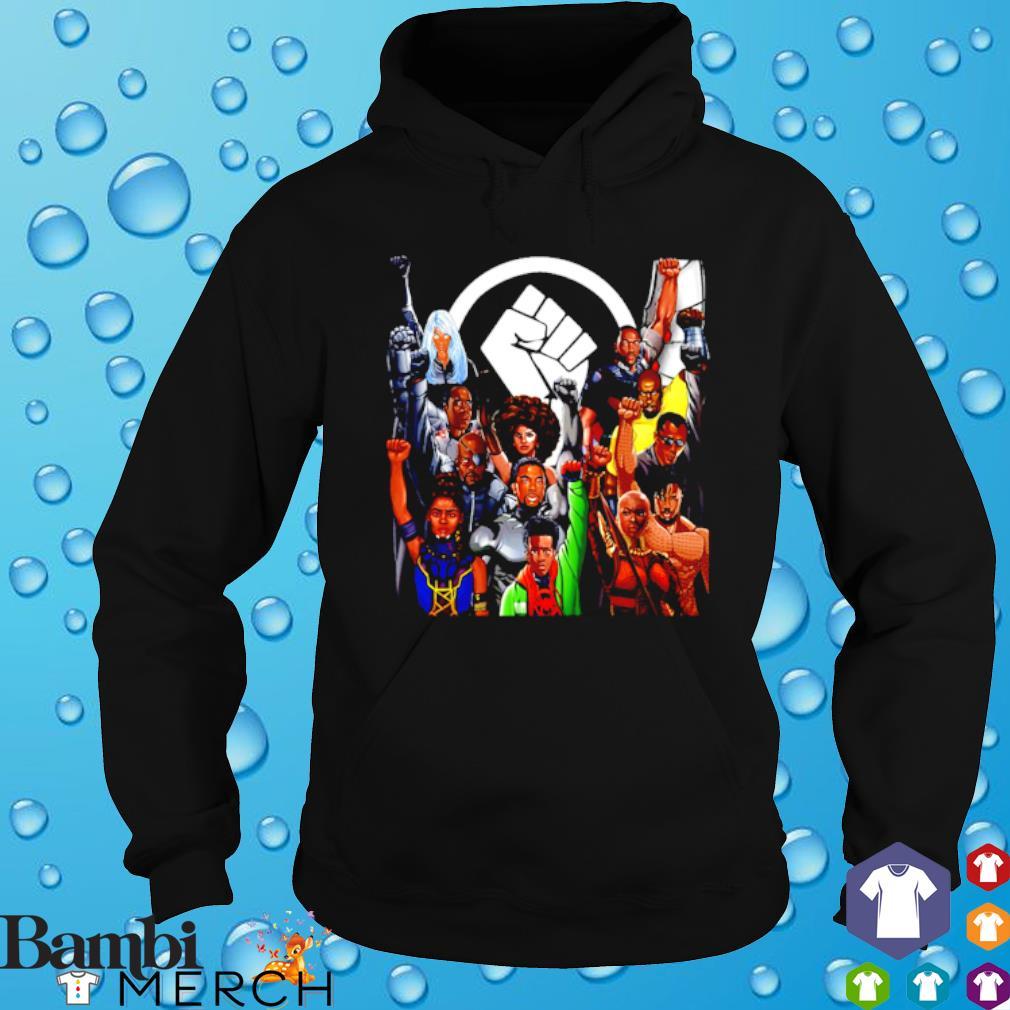 Marvel character juneteenth s hoodie