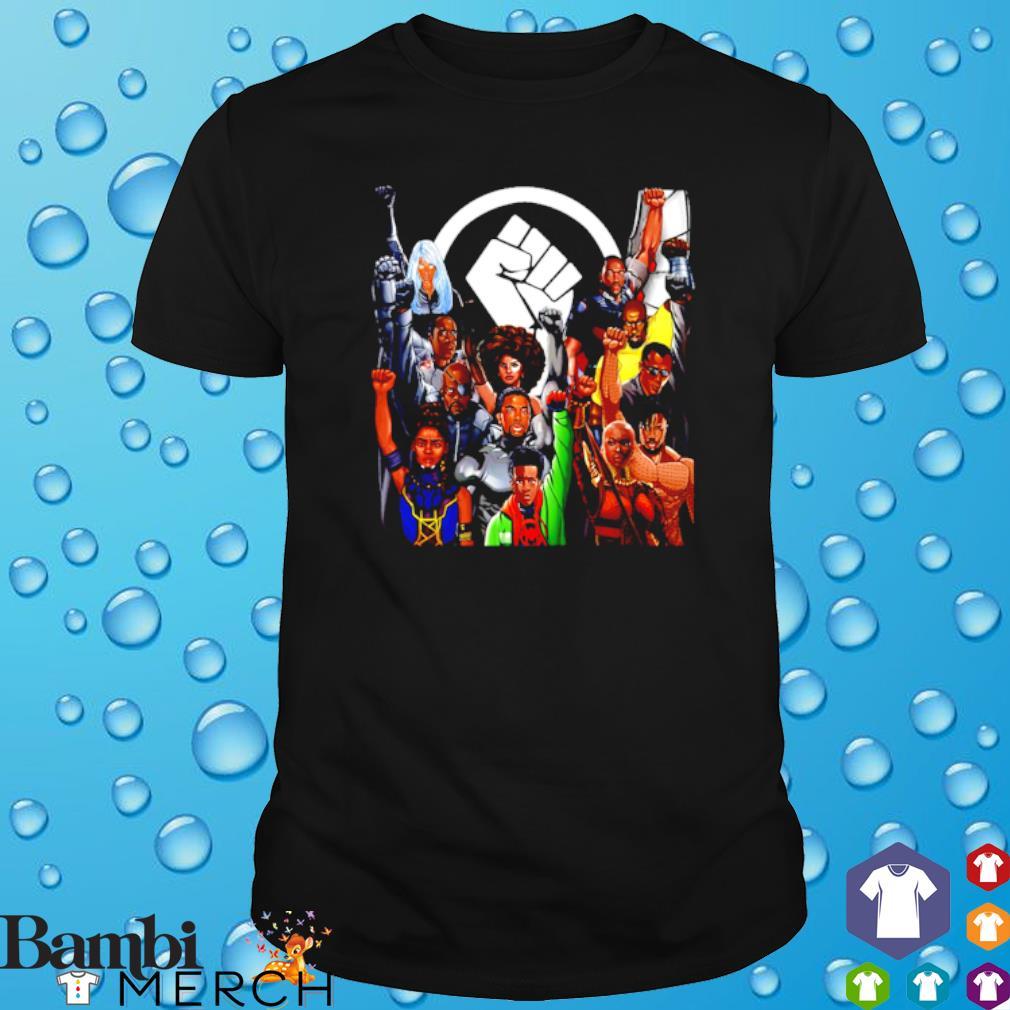 Marvel character juneteenth shirt