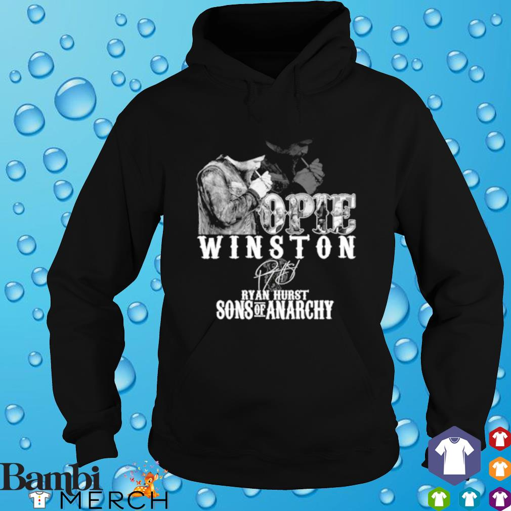 Opie Winston Ryan Hurst sons of anarchy signature s hoodie