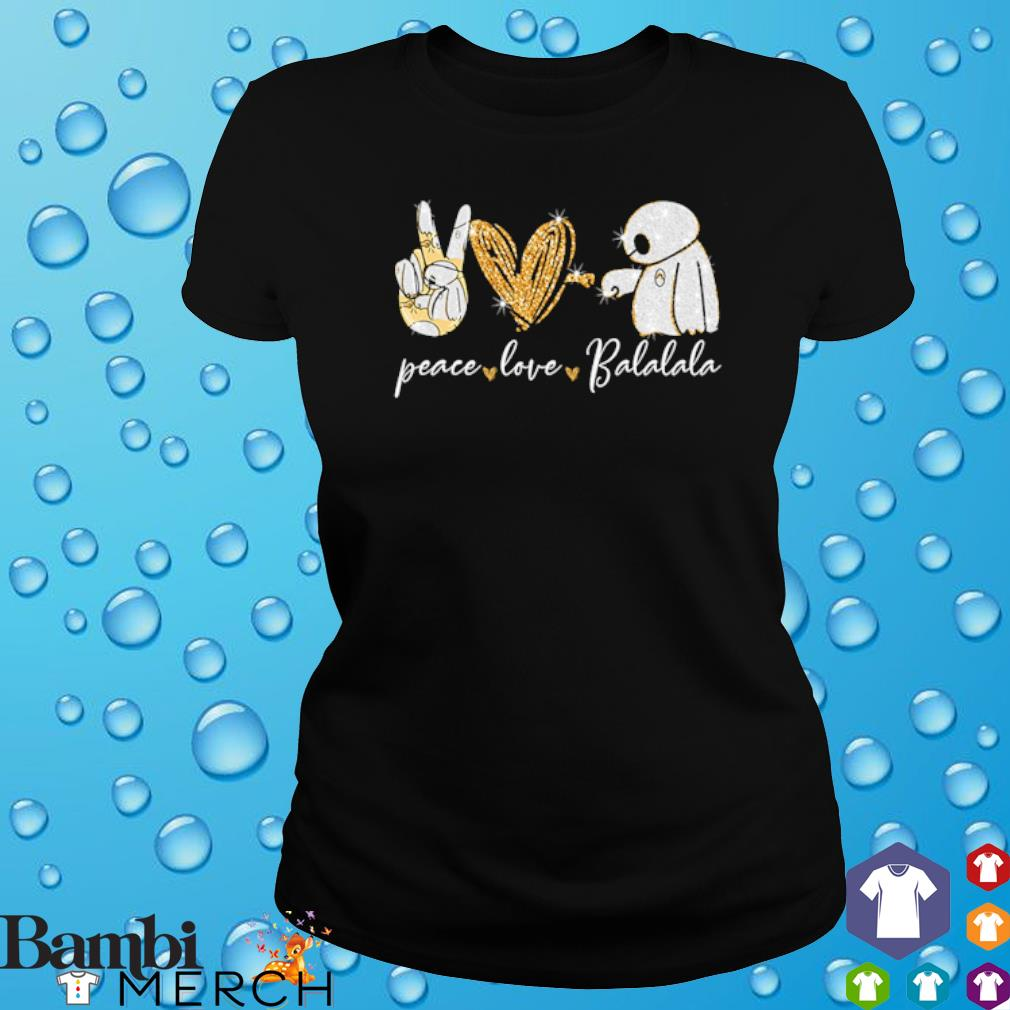 Peace Love Balalala s ladies tee