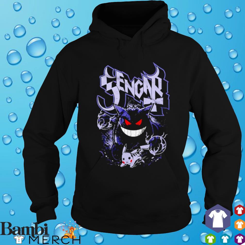 Pokemon Gengar ghost Pikachu s hoodie