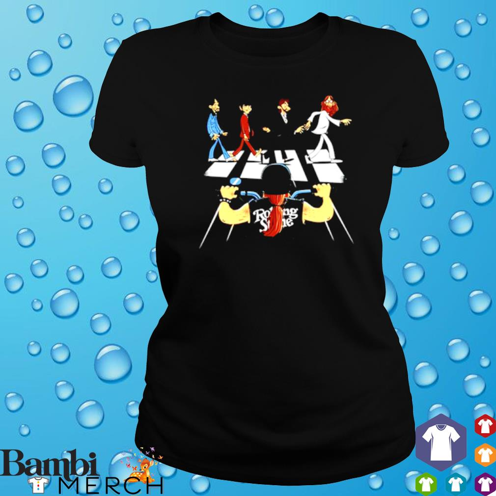 Rolling Stones Motor Abbey Road s ladies tee