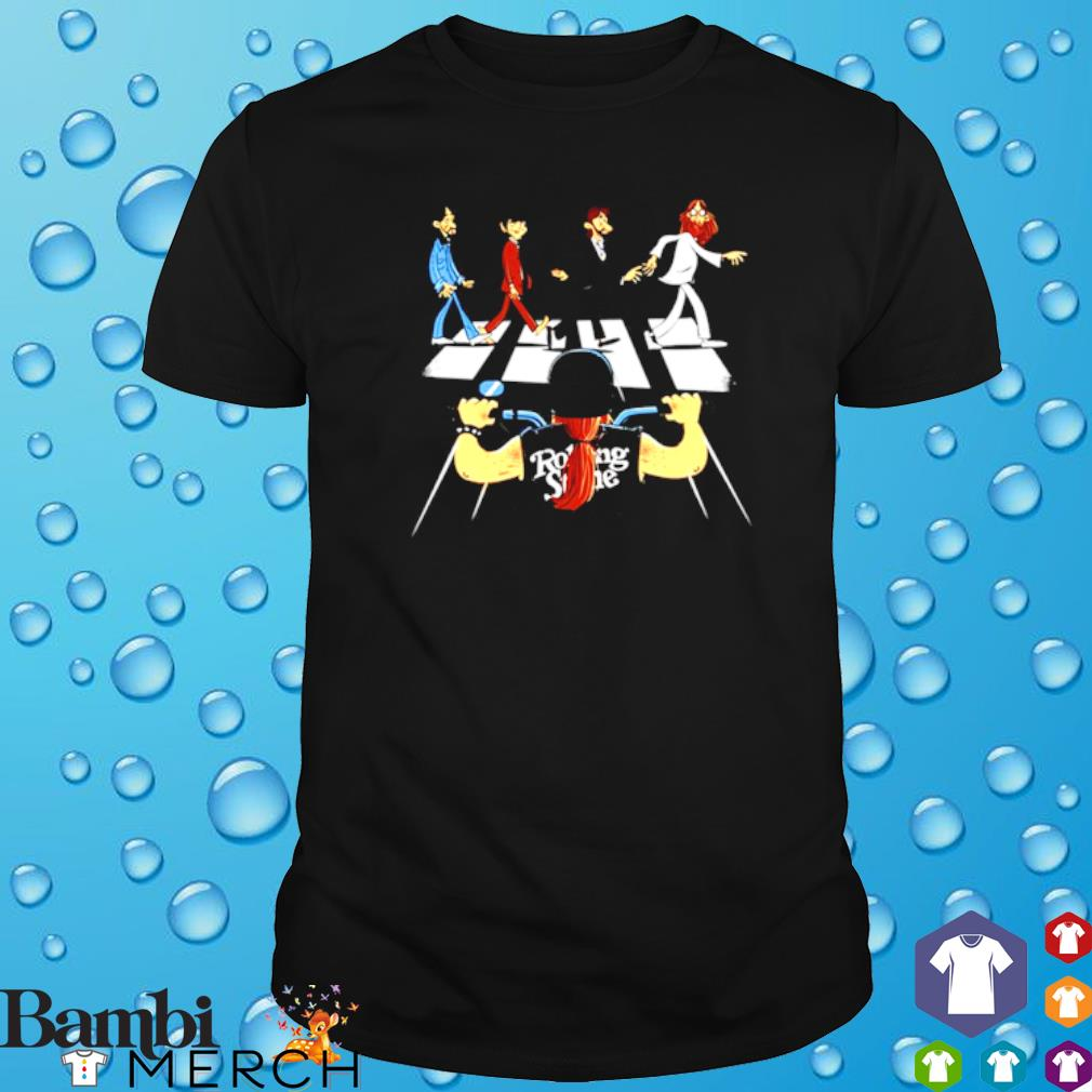 Rolling Stones Motor Abbey Road shirt