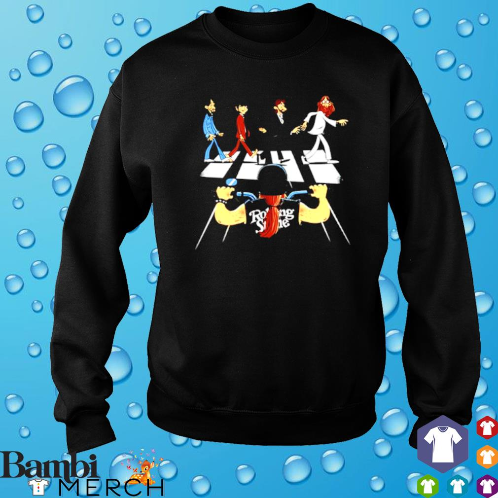 Rolling Stones Motor Abbey Road s sweater