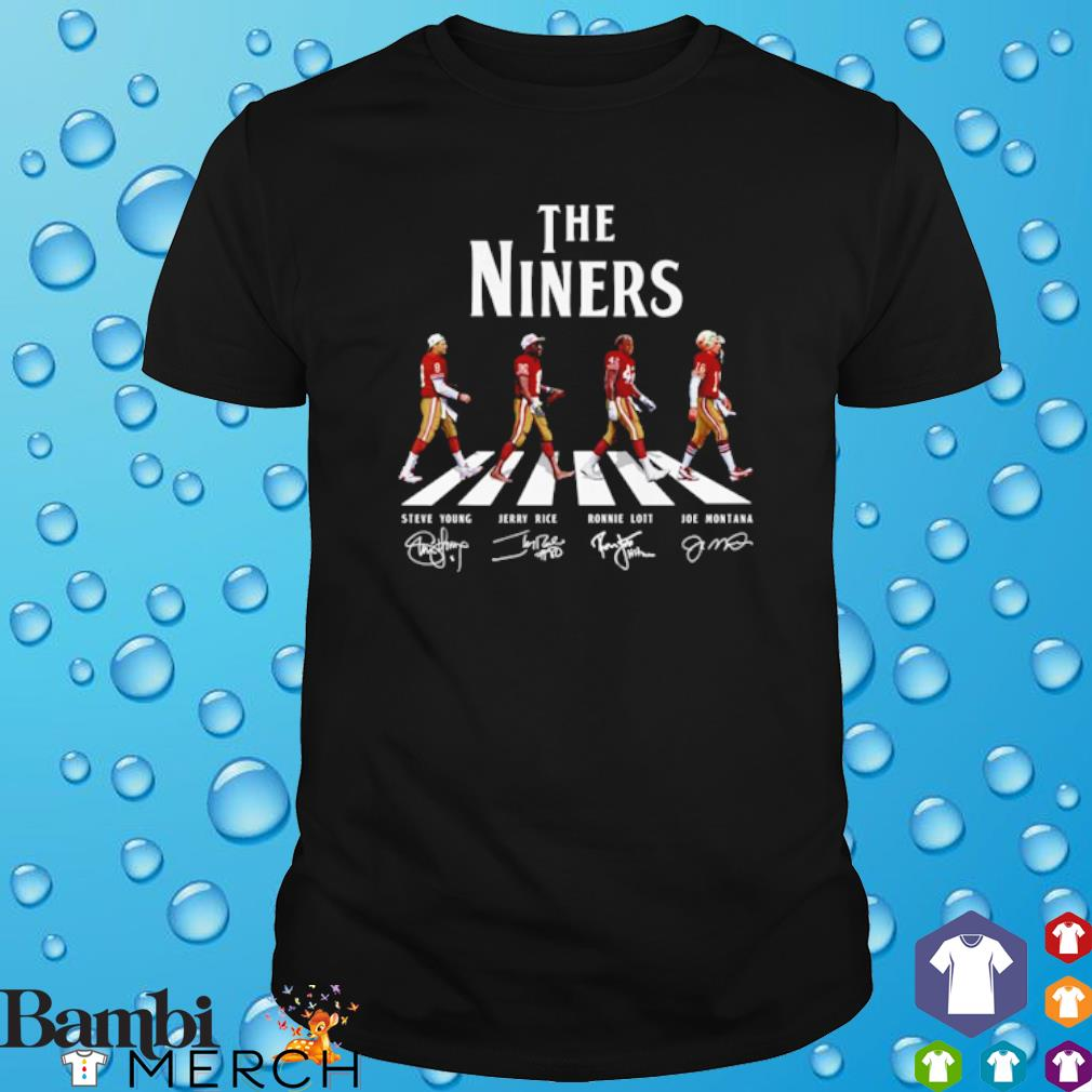The Niners abbey road signature shirt