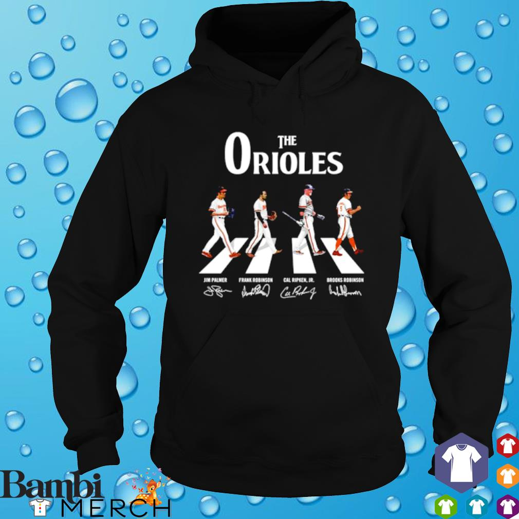 The Orioles Abbey Road signature s hoodie