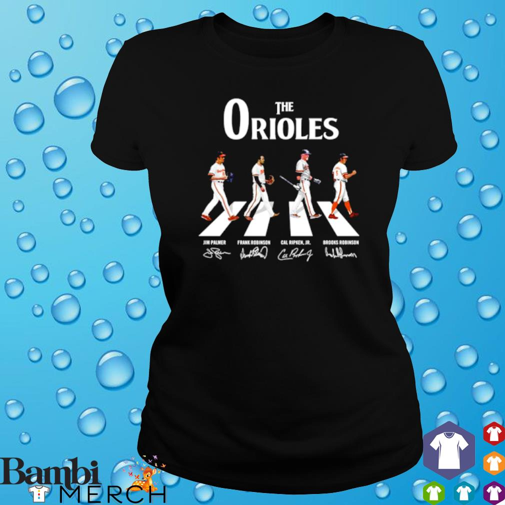 The Orioles Abbey Road signature s ladies tee