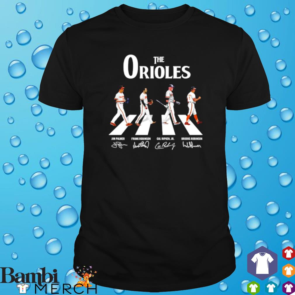 The Orioles Abbey Road signature shirt