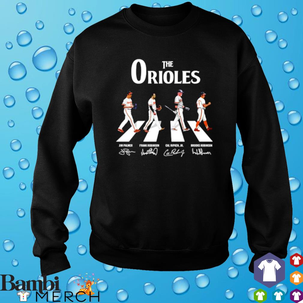 The Orioles Abbey Road signature s sweater