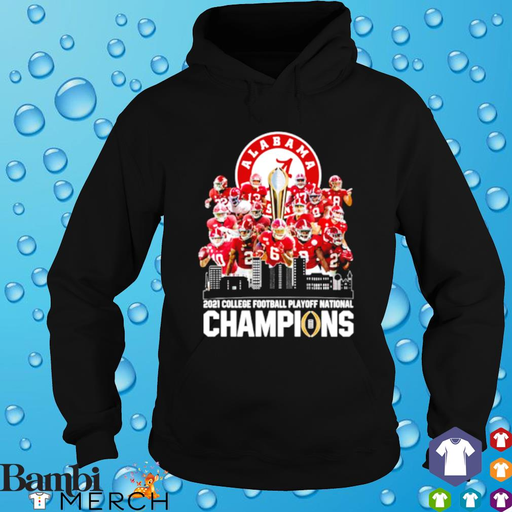 Alabama 18 time national champions 2021 college football playoff s hoodie
