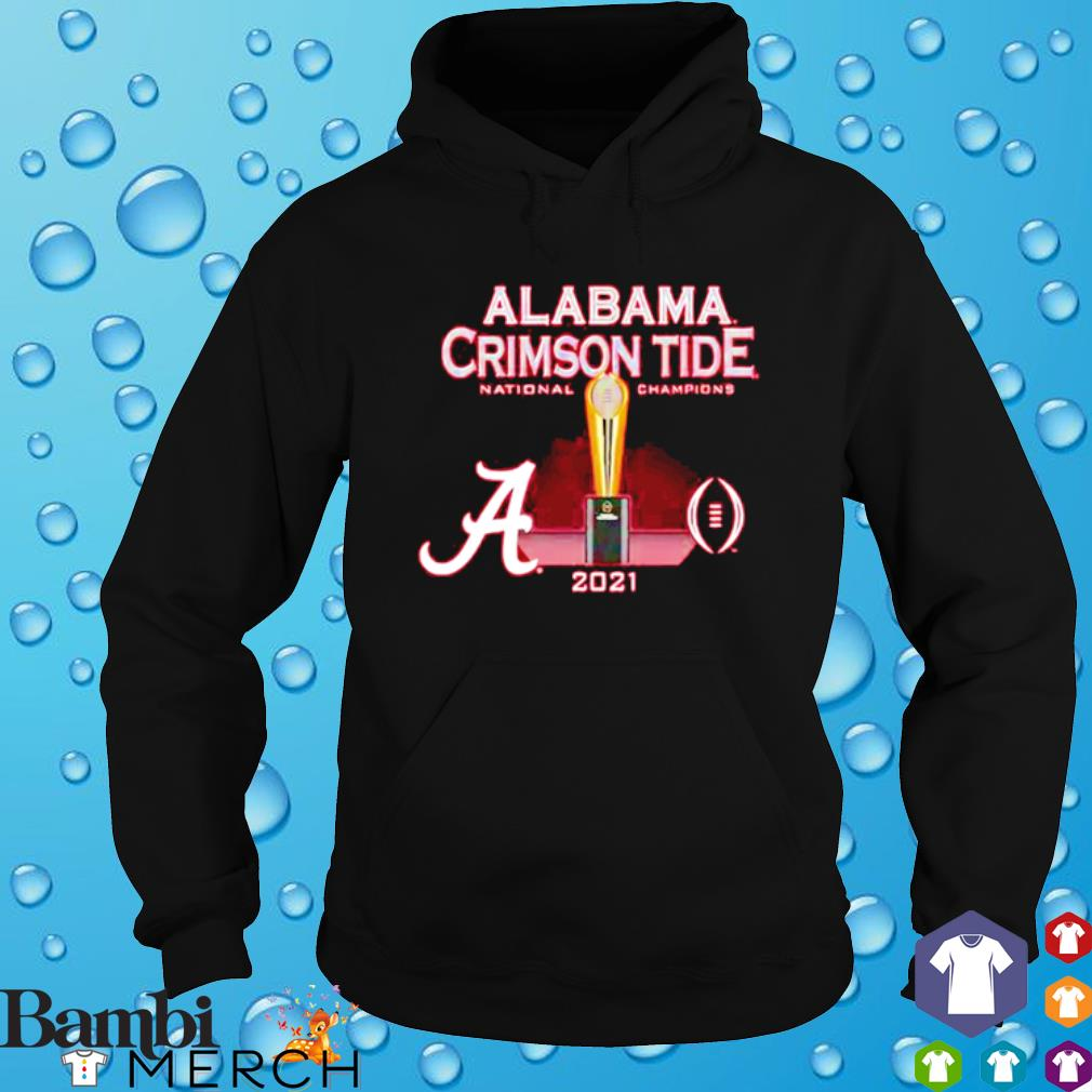 Alabama Crimson Tide National champions cup 2021 s hoodie