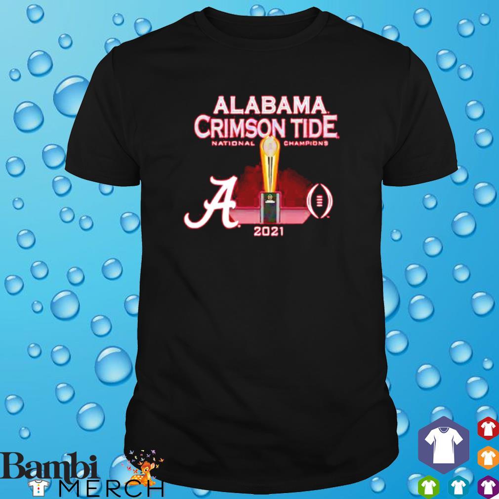 Alabama Crimson Tide National champions cup 2021 shirt