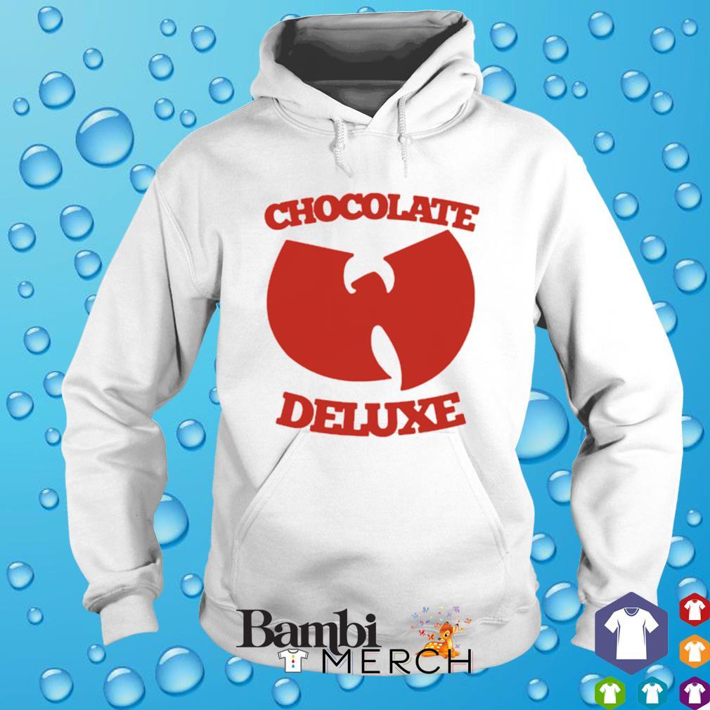 Chocolate deluxe Wu-Tang clan s hoodie
