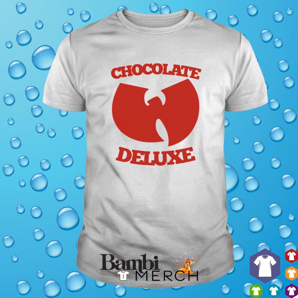 Chocolate deluxe Wu-Tang clan shirt