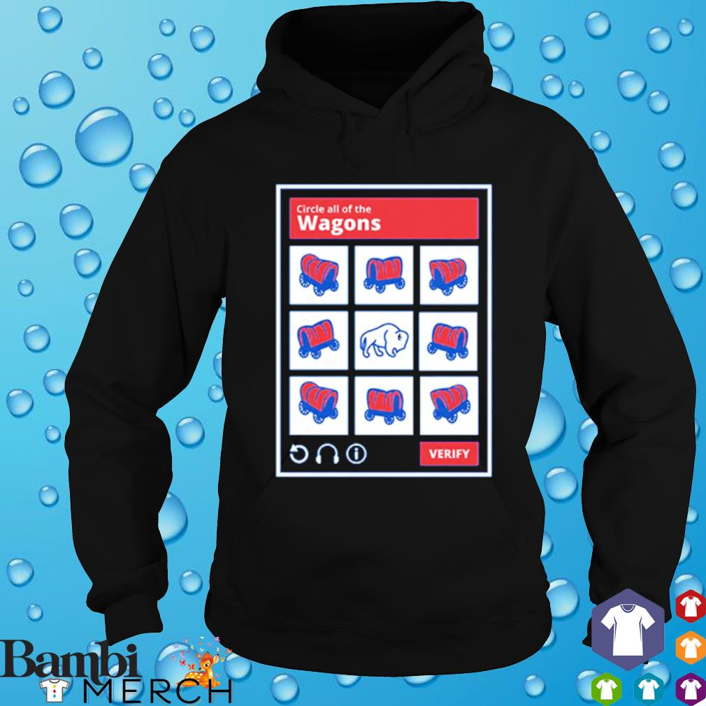 Circle all of the Wagons Buffalo Bills s hoodie