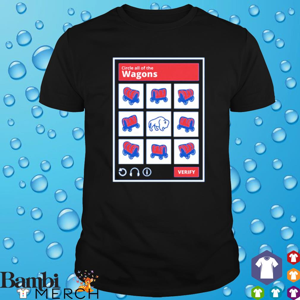Circle all of the Wagons Buffalo Bills shirt