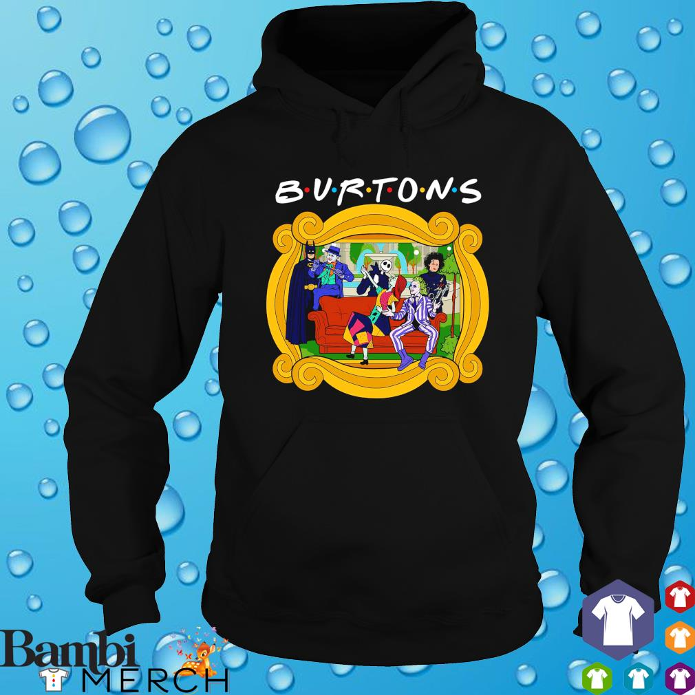 Friends the one with the Burtons s hoodie