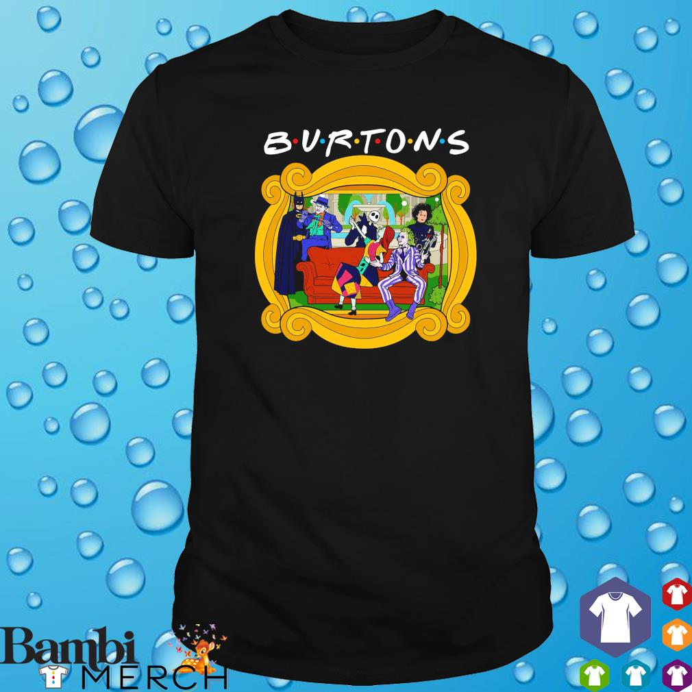 Friends the one with the Burtons shirt