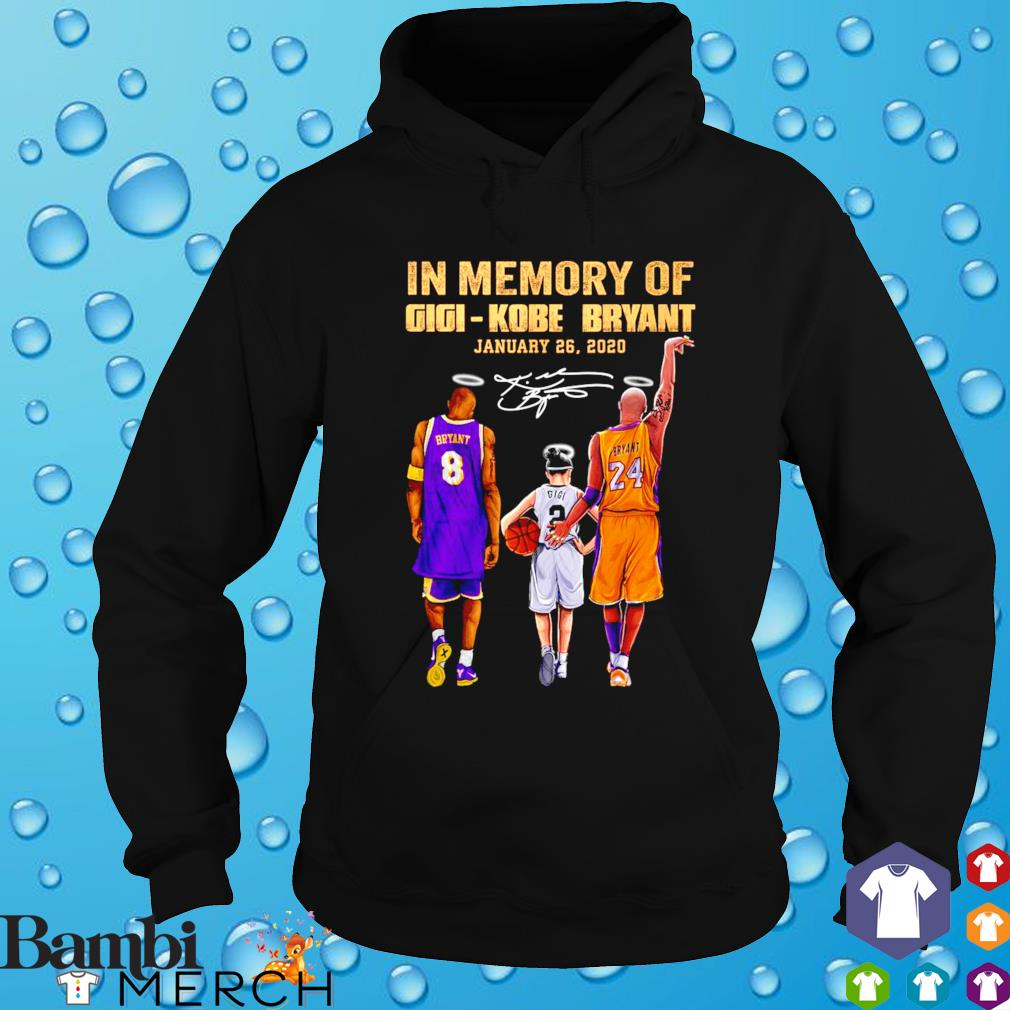 Gigi Kobe Bryant January 26 2020 thanks for memories s hoodie