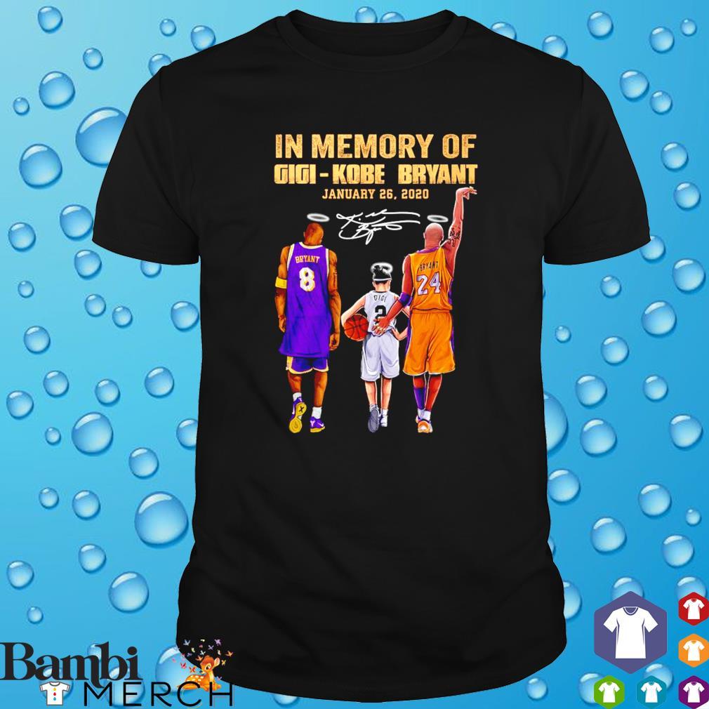 Gigi Kobe Bryant January 26 2020 thanks for memories shirt
