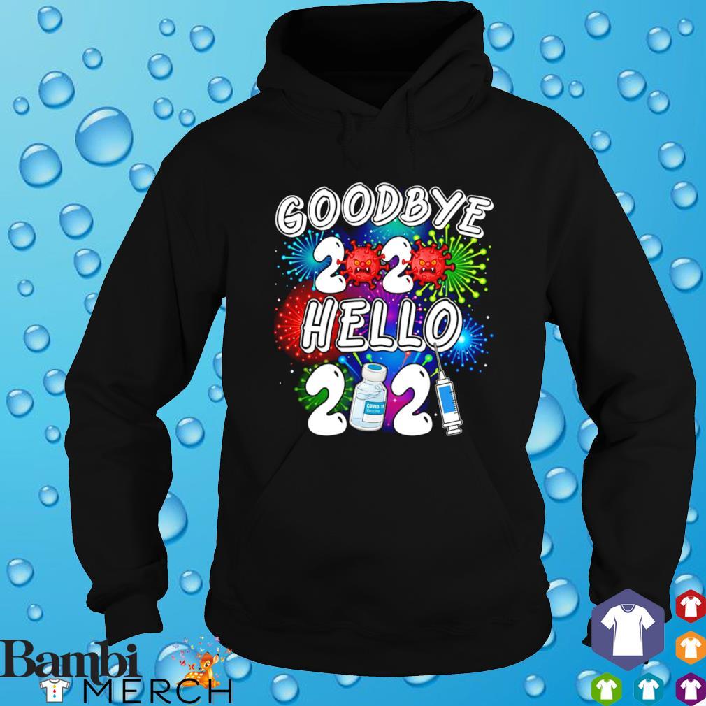 Goodbye 2020 hello 2021 vaccine Covid-19 s hoodie