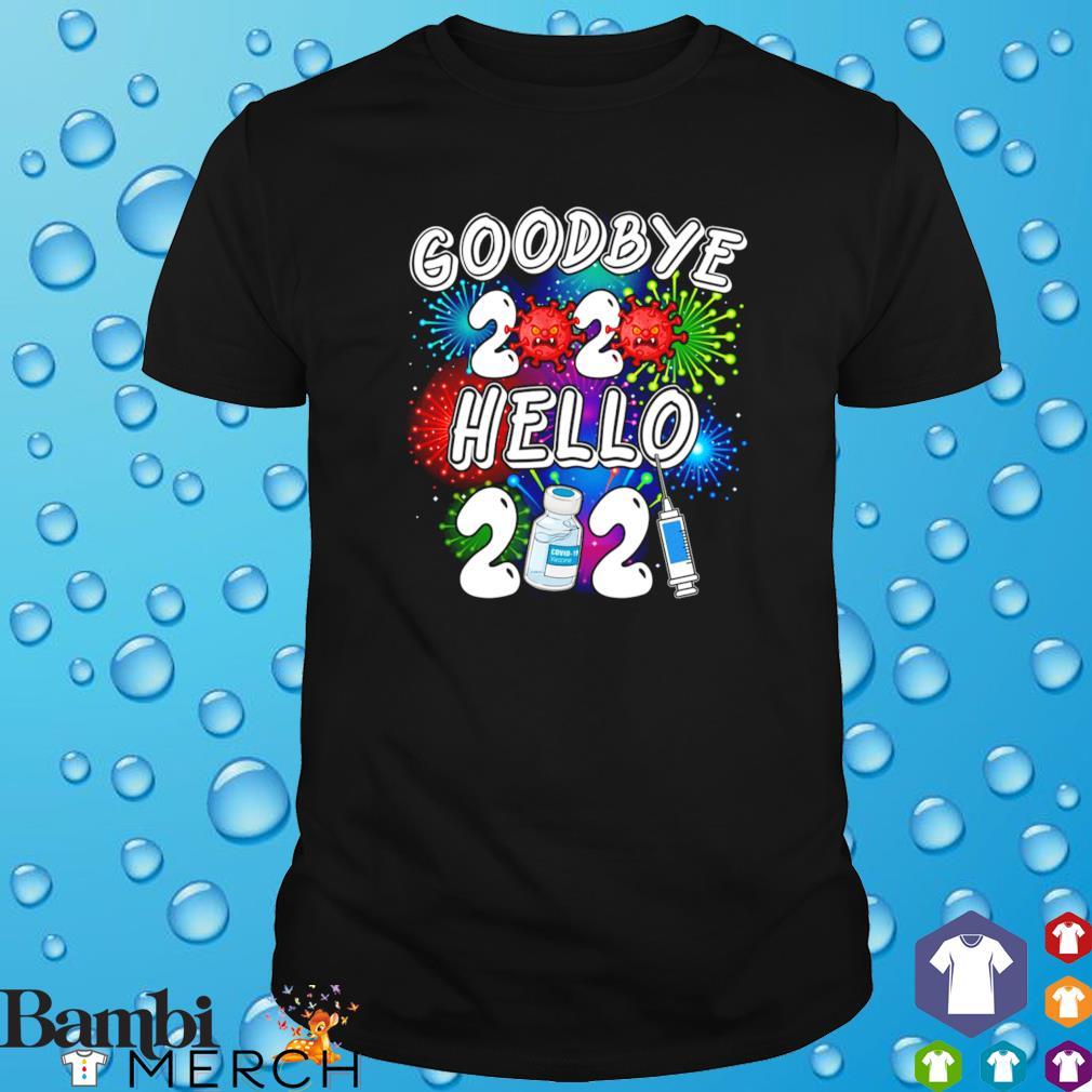 Goodbye 2020 hello 2021 vaccine Covid-19 shirt