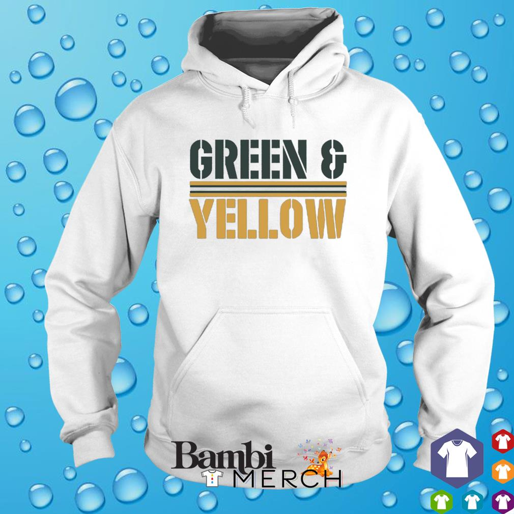 Green and Yellow Packers s hoodie