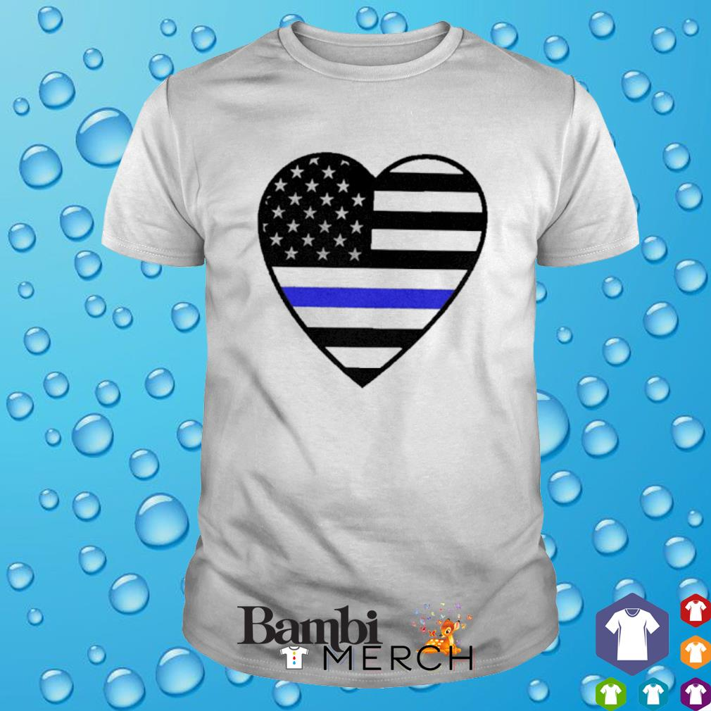 Heart Thin Blue Line shirt