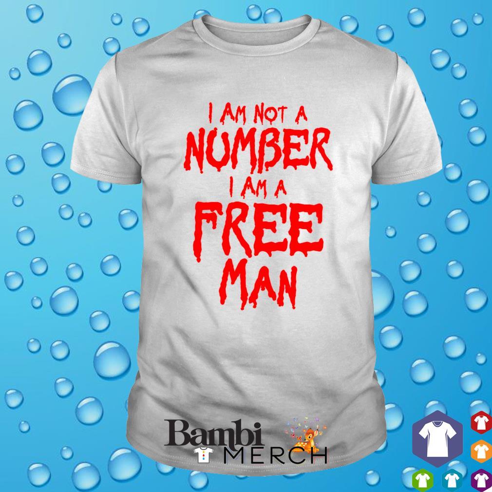 I am a free man I am not a number shirt