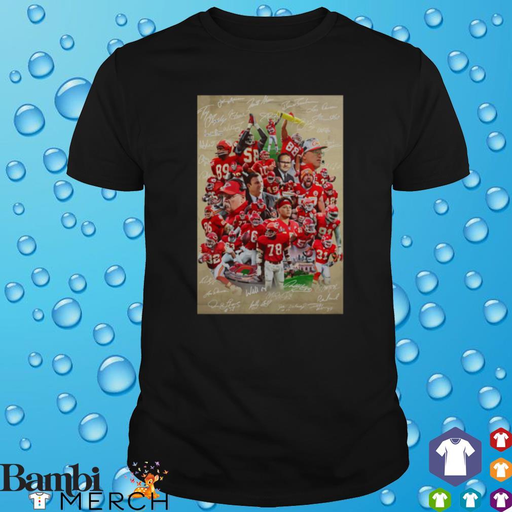 Kansas City Chiefs best players signature shirt