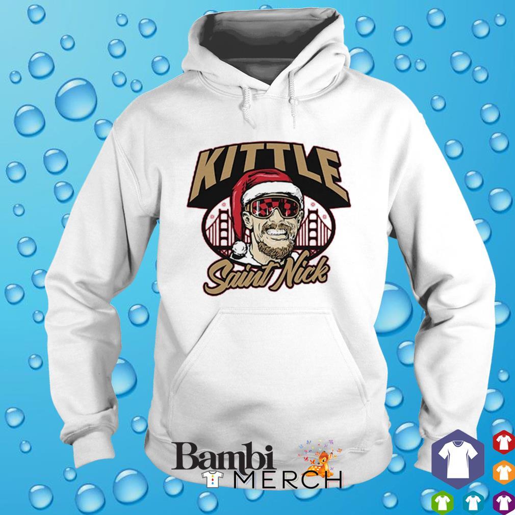 Kittle Saint Nick s hoodie