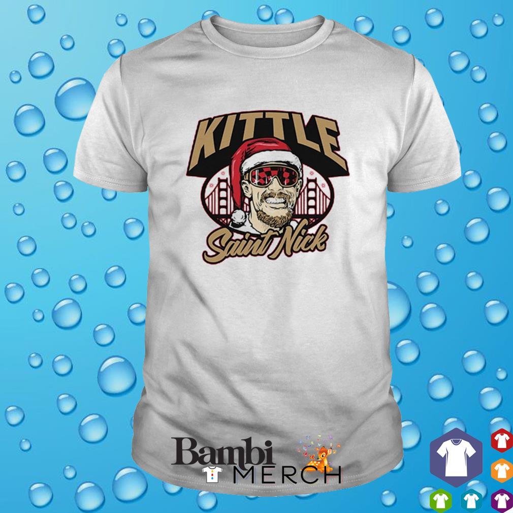 Kittle Saint Nick shirt
