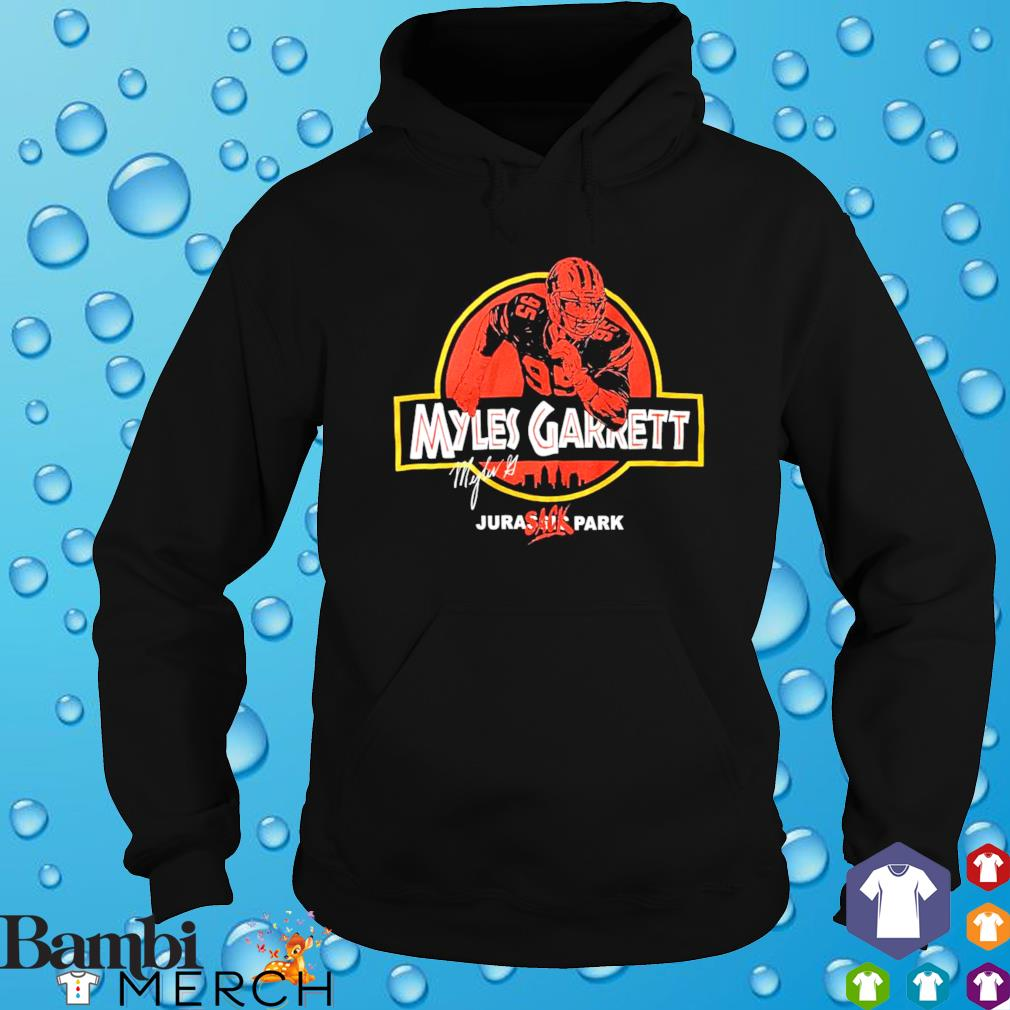 Myles Garrett Jurassic Park s hoodie
