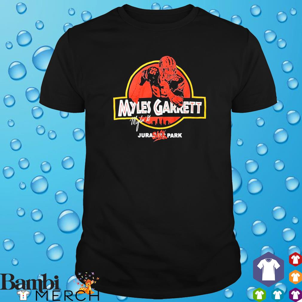 Myles Garrett Jurassic Park shirt